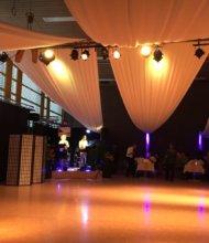 Toggenburger-Tanznacht Band und Tanzfläche